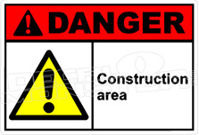 Danger 048H - construction area