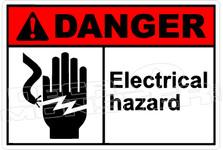Danger 087H - electrical hazard 2