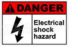 Danger 088H - electrical shock hazard