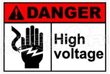 Danger 151H - high voltage