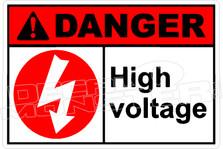 Danger 152H - high voltage 2