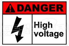 Danger 153H - high voltage 3