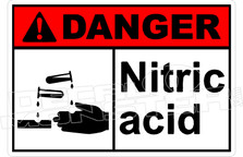 Danger 227H - nitric acid
