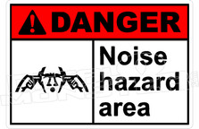Danger 251H - noise hazard area