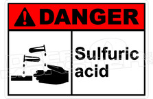 Danger 309H - sulfuric acid