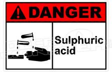 Danger 310H - sulphuric acid