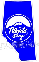 Alberta Strong1 Province Fort Mac McMurray 2016 Fire Decal Sticker