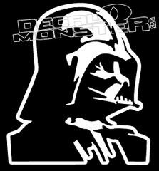 Darth Vader Silhouette Decal Sticker