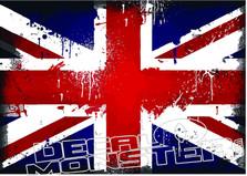 Union Jack British Flag Distressed