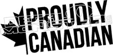 Proudly Canadian Leaf