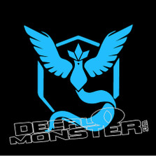 Pokemon Go Team Mystic Decal Sticker DM