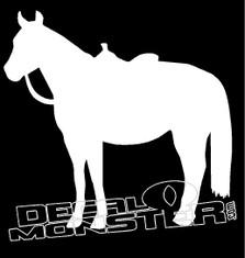 Horse Saddle Silhouette
