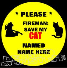 Fireman Save Cat