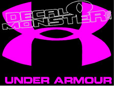 Under Armour Decal Sticker