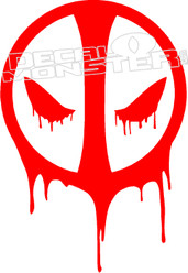 Deadpool 3 Decal Sticker