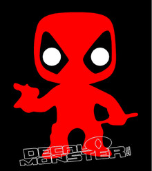 Deadpool 4 Decal Sticker