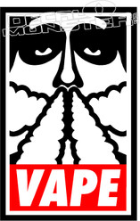 Obey Vape Decal Sticker
