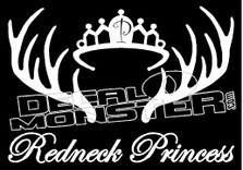 Redneck Princess Decal Sticker