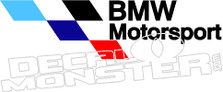 Bmw Motorsport Decal Sticker