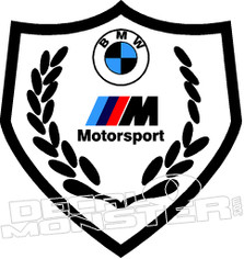 Bmw Motorsport 2 Decal Sticker