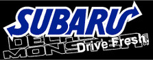 Subaru Drive Fresh JDM Decal Sticker