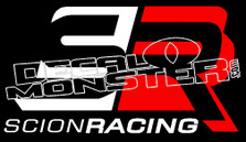 Scion Racing 1 Decal Sticker