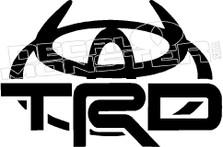 Toyota TRD Devil Horns 2 Decal Sticker
