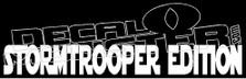 StormTrooper Edition Decal Sticker