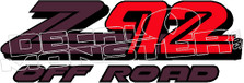 Z92 Off Road Decal Sticker