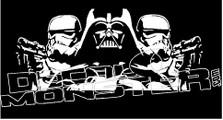 Star Wars Silhouette 1 Decal Sticker