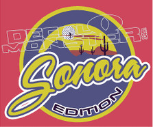 Sanora Edition Decal Sticker