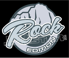 Rock Edition Decal Sticker