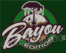 Bayou Edition Decal Sticker