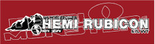 405 Horsepower Hemi Rubicon Decal Sticker