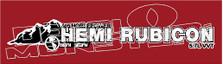 405 Horsepower Hemi Rubicon Decal Sticker