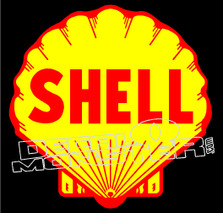 Shell Logo Decal Sticker