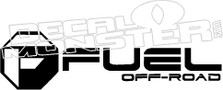 Fuel Off Road Decal Sticker