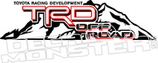 TRD Off Road Mountain4 Decal Sticker