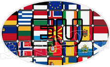 European Union Decal Sticker