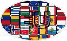 European Union Decal Sticker