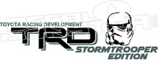 TRD StormTrooper Edition Decal Sticker