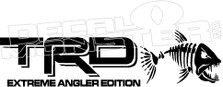 TRD Extreme Angler Edition Decal Sticker