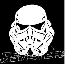 StormTrooper Silhouette Decal Sticker