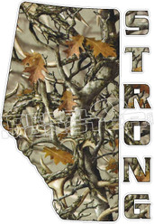 AlbertaStrong Province 5 Camo Decal Sticker