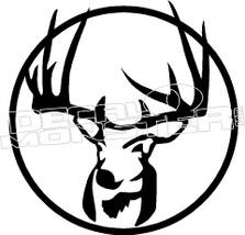 Buck Hunter Decal Sticker DM