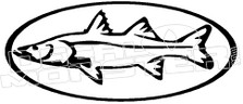 Fish 3 Decal Sticker