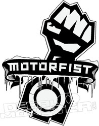 Motorfist 2 Snowmobile Sled Decal Sticker