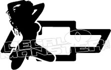 Chevy Girl 1 Decal Sticker