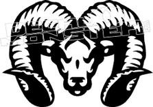 Ram Silhouette Decal Sticker