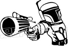 Bobbafit Star Wars Decal Sticker